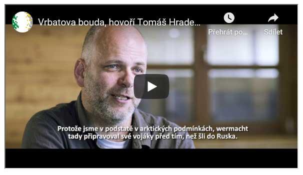 Tomáš Hradečný hovoří o Vrbatově boudě