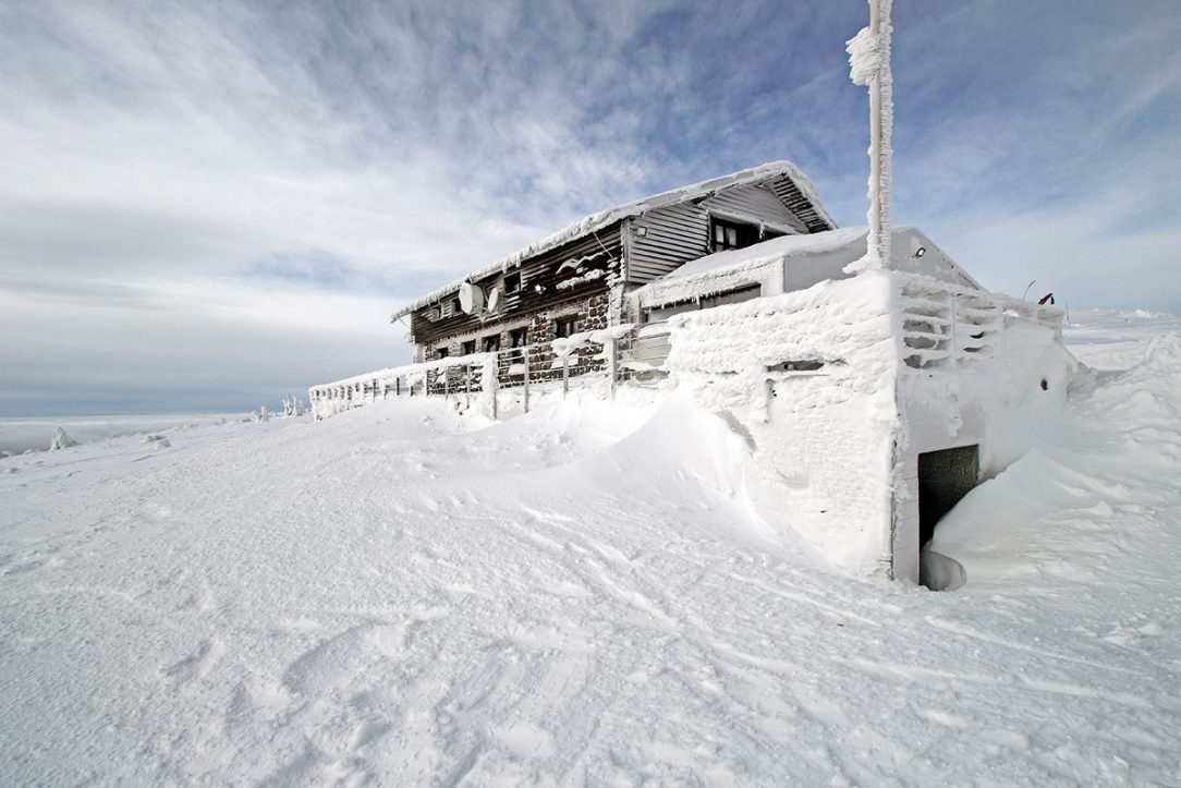 Vrbatova bouda zima