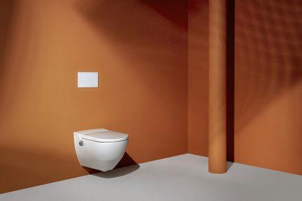 WC Cleanet Navia se zabudovanou bidetovou sprškou vyhoví i nejnáročnějším zákazníkům