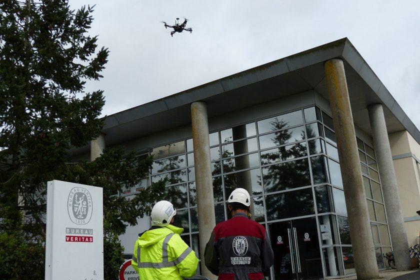 Drony jsou často jedinou možností kontroly nepřístupných konstrukcí