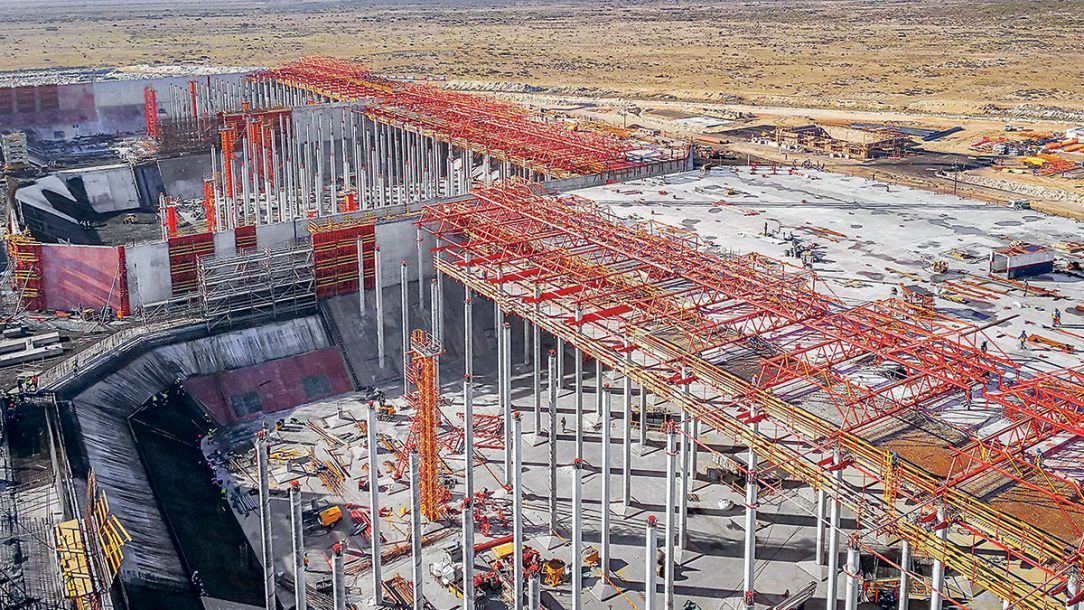 V průběhu výstavby bylo pro všechny účastníky projektu stále k dispozici velké množství důležitých informací. Trojrozměrné modely usnadnily koordinaci na stavbě a umožnily rychlé a spolehlivé prováděcí a kontrolní činnosti.