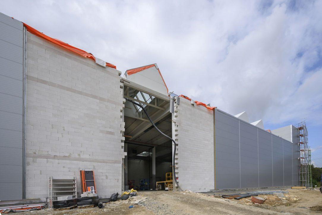 Rozšíření výrobní a skladovací kapacity v kladenském areálu společnosti La Lorraine 09