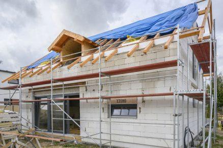 těžká masivní střecha