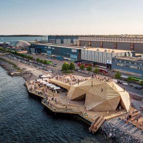 AVANTO Architects sauna Loÿly Helsinky