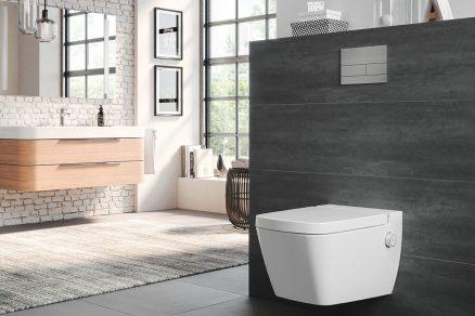 Díky unikátní technologii nevyžaduje sprchovací toaleta TECEone připojení na elektřinu.