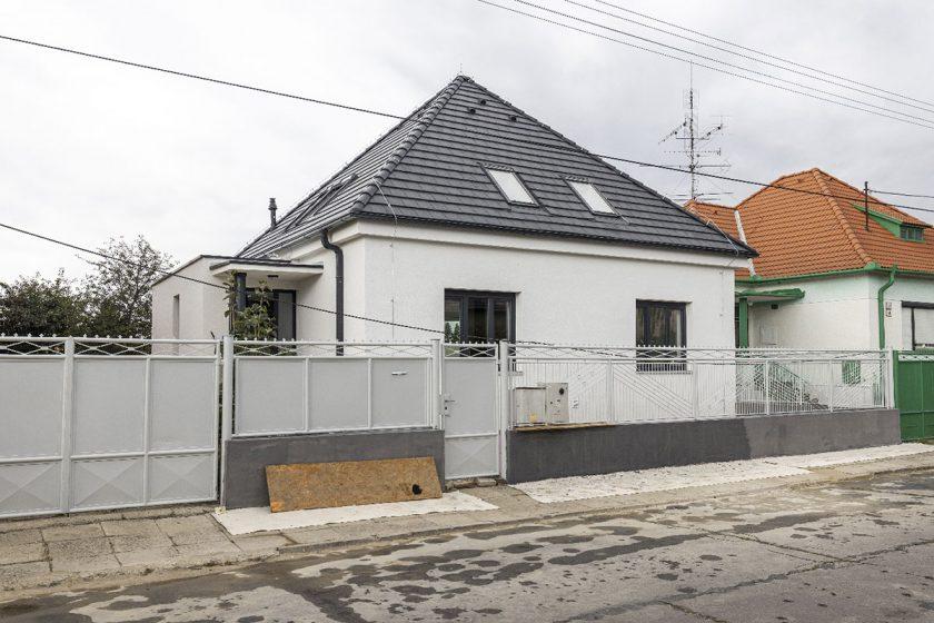 Rodinný dům po rekonstrukci.
