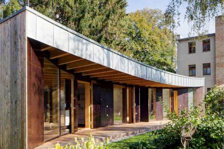Rodinný dům s funkčním členěním vnitřních prostor