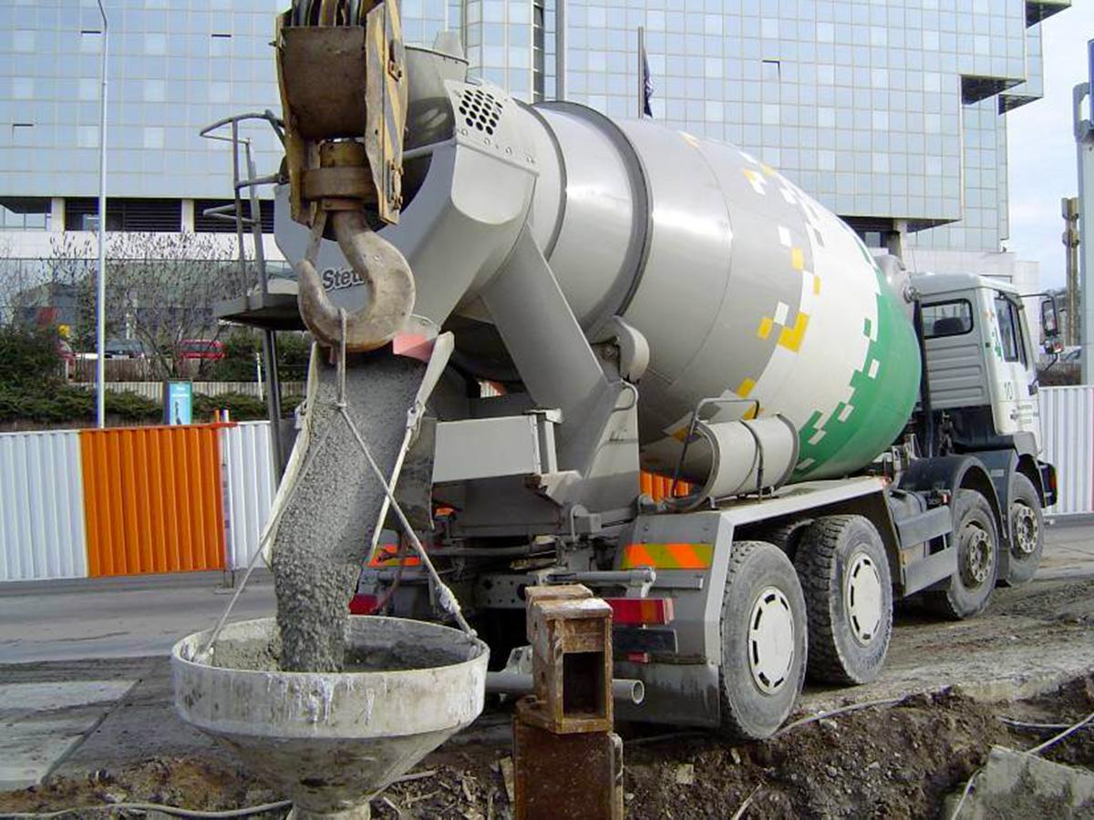Zpracování betonu