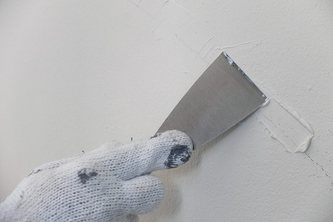 Opravy stěny