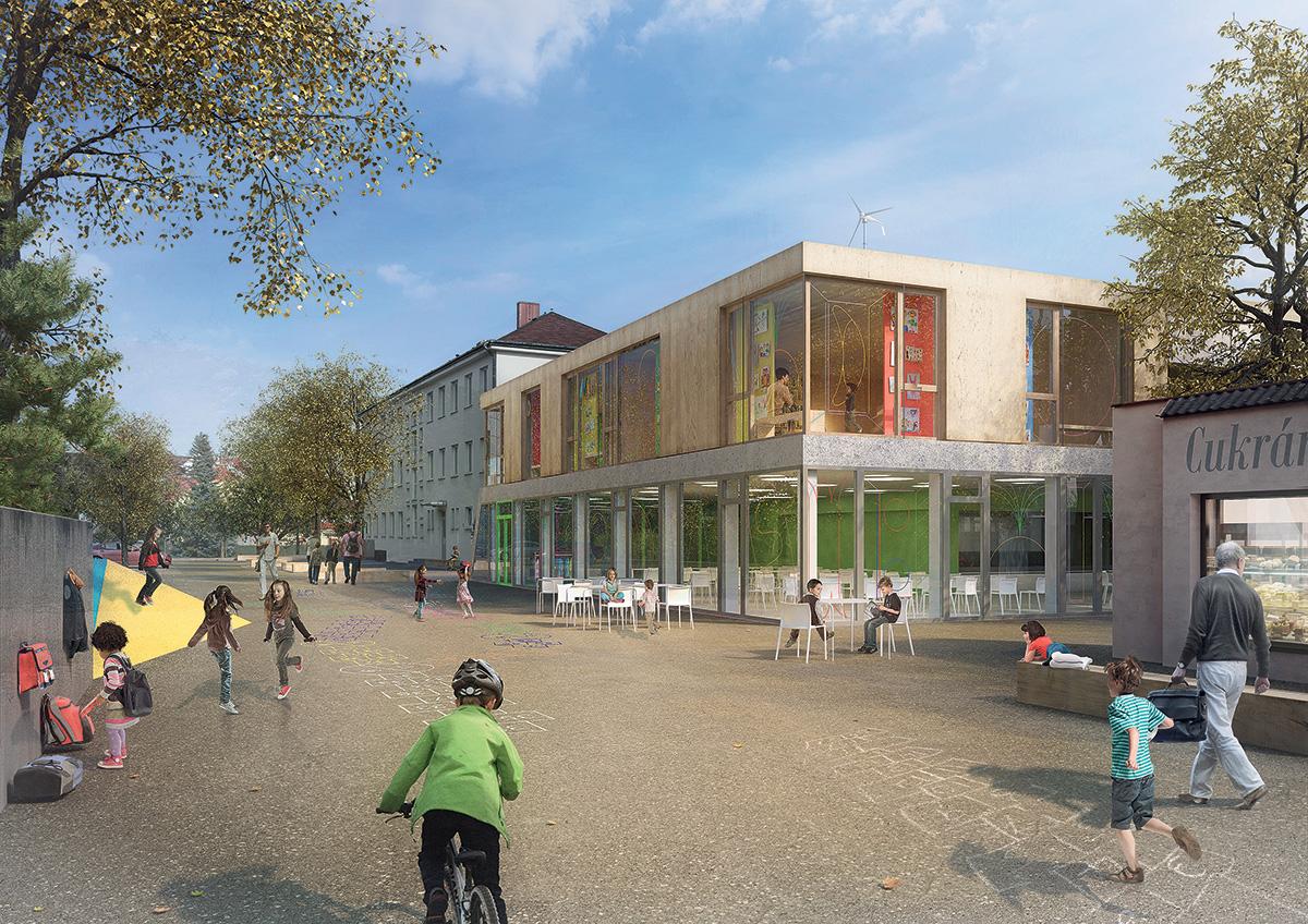 Komunitní centrum vMnichově Hradišti