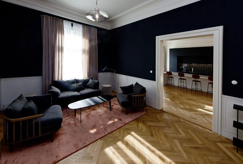 Interiéry v sobě snoubí klasické a moderní prvky jemnost dekadenci honosnost i útulnost