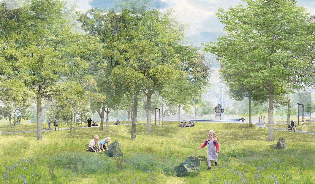 Park Střed vMostě