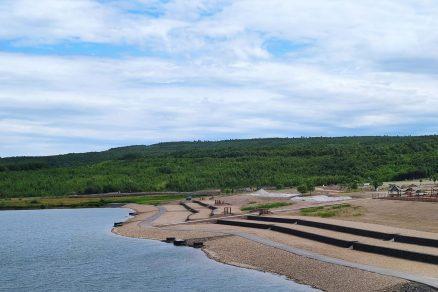Vznikl nový prostor pro rekreaci a vodní sporty