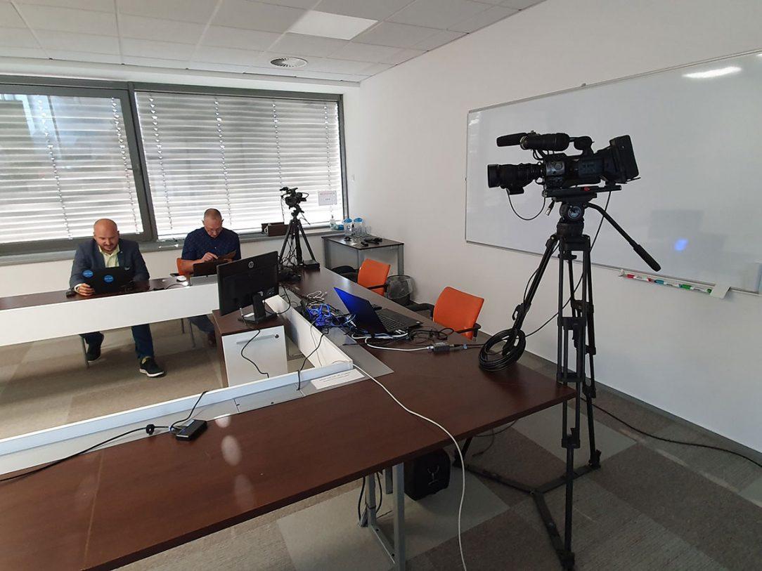 Příprava konference – M.Slanec a B.Keka