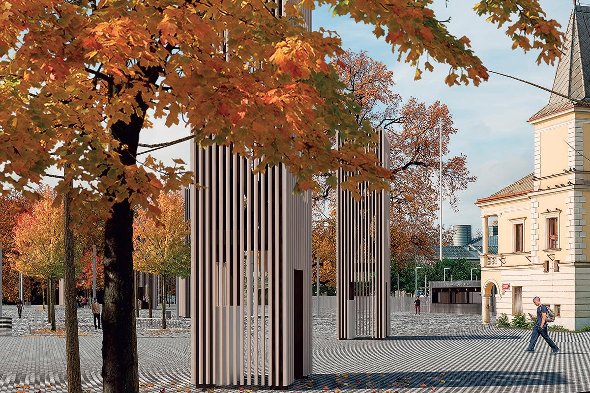 Vstupní brány Výstaviště