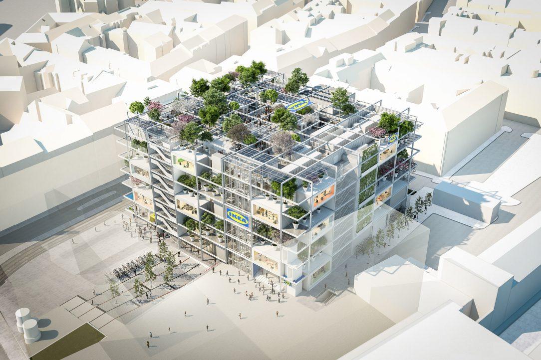 IKEA Westbahnhof Vídeň - Querkraft Architekten