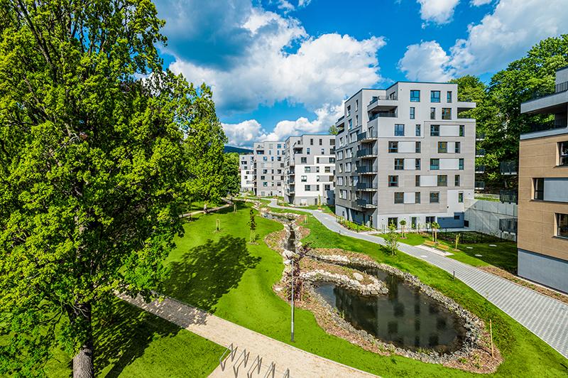 Rezidence park Masarykova, Liberec