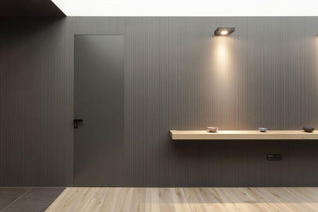 Skrytá zárubeň Dorsis umožní nechat vyniknout klíčové interiérové prvky