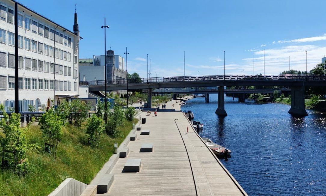 HZA Sandvika River Promenade