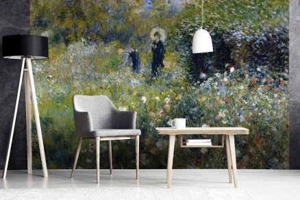 Vliesové tapety dokonce i jako reprodukce od známých malířů (Pierre Auguste Renoir)