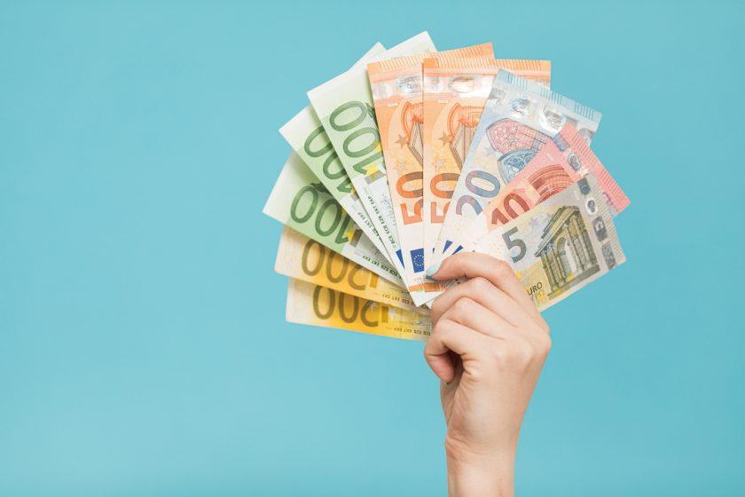 penize, euro