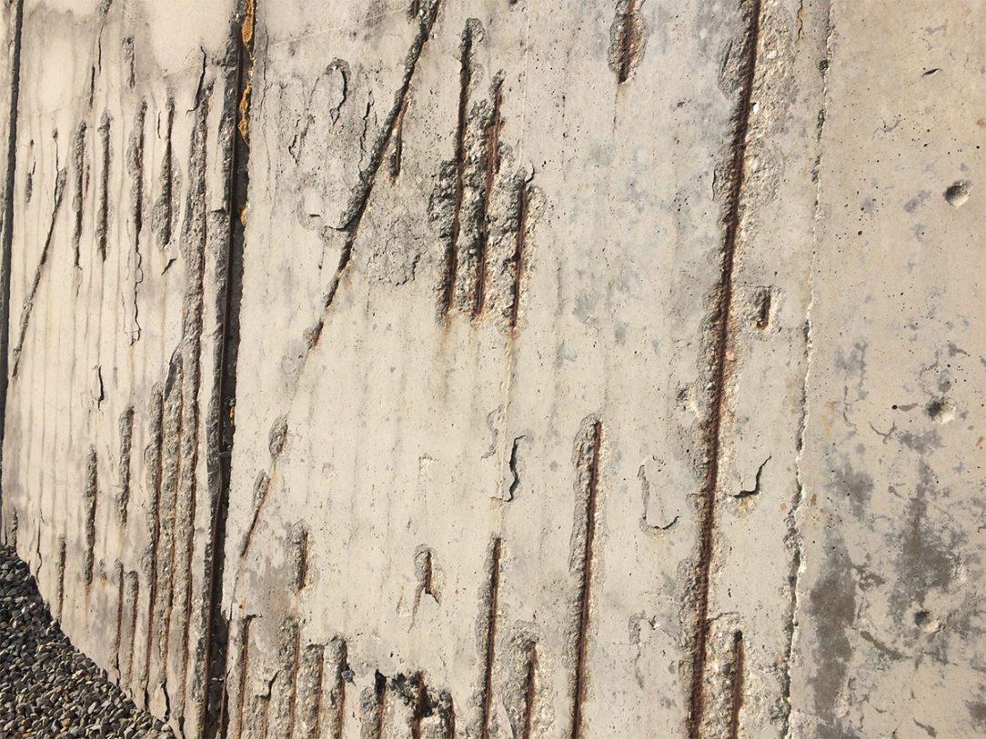 Koroze betonu na stávající silážní jámě