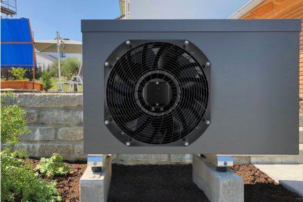 Obr. 1: Nové axiální ventilátory jsou vhodné také při větší tlakové zátěži a mají velkou výhodu díky vyšším rychlostem proudění vzduchu.