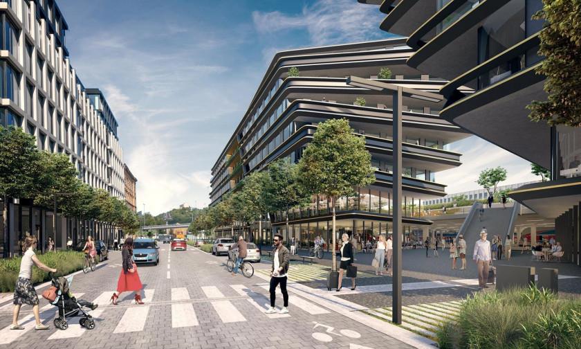 Vzniknout má až 100.000 metrů čtverečních komerčních ploch a bytů