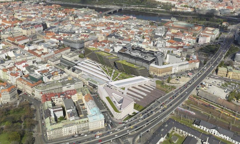 Po archeologickém průzkumu, který by měl začít letos v dubnu, postaví Penta na křižovatce ulic Hybernská a Opletalova hotel