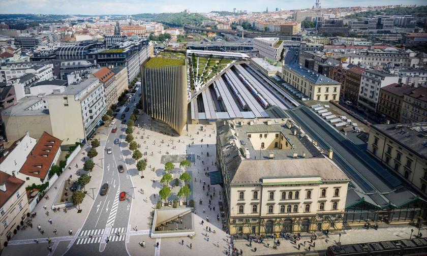 Celkové náklady dosáhnou zhruba 2,5 miliardy korun, dalších 200 milionů půjde na rekonstrukci Masarykova nádraží