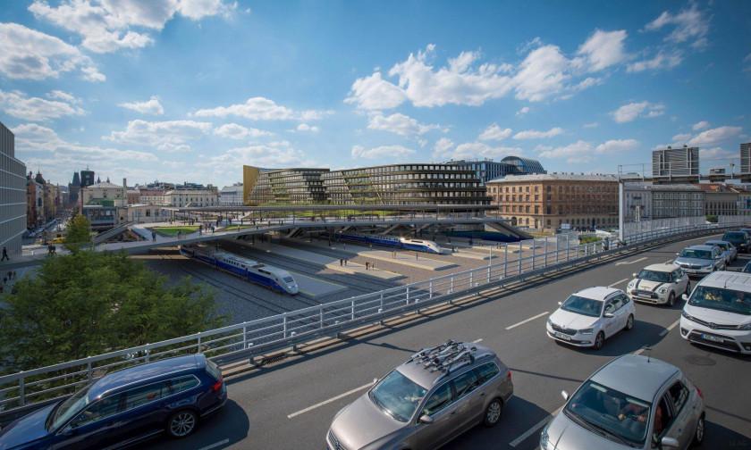 Od příštího roku budou tvary budov dostávat finální podobu