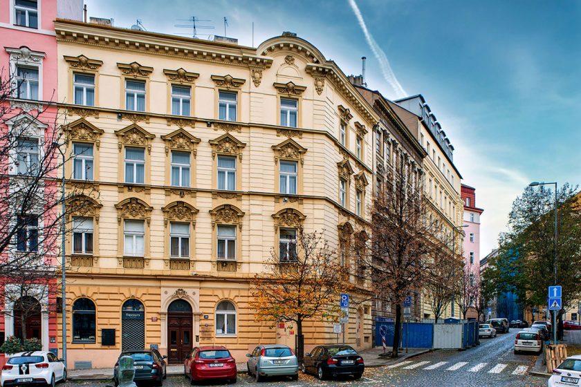 činžovní dům Praha Vinohrady.