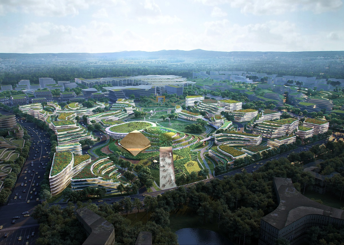 International Educational Park designed after competition win 01