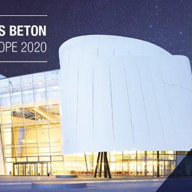 Förderpreis Beton Central Europe 2020