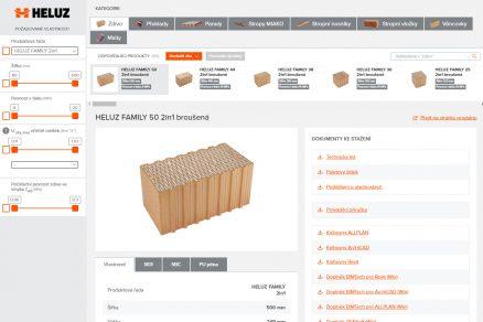 HELUZ Selektor konstrukcí pro architekty a projektanty