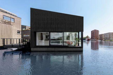 065 HR 12 Floating Home Schoonschip residential exterior facade i29