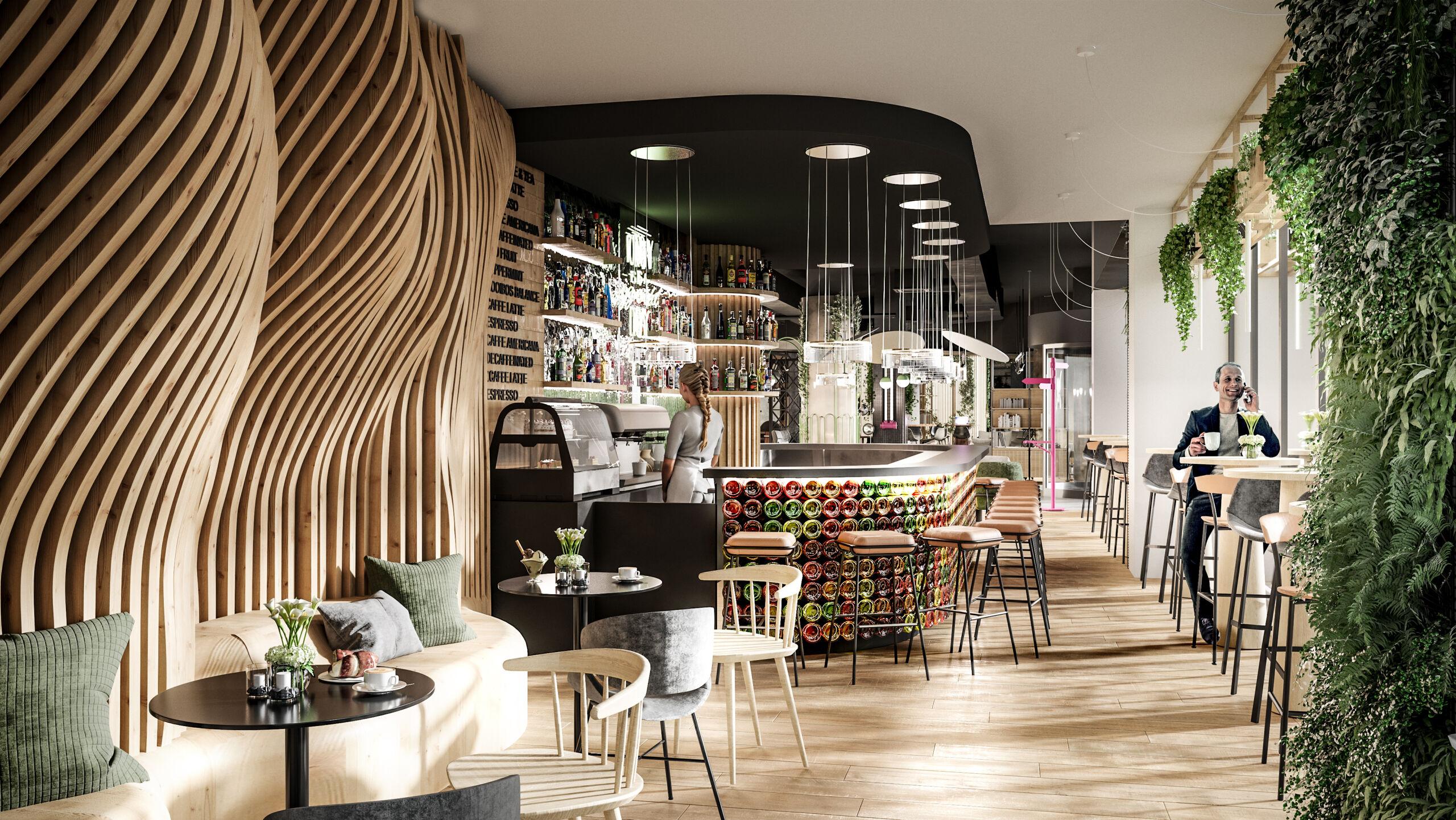 UBM Development Hotel Mercure vizualizace interier 01