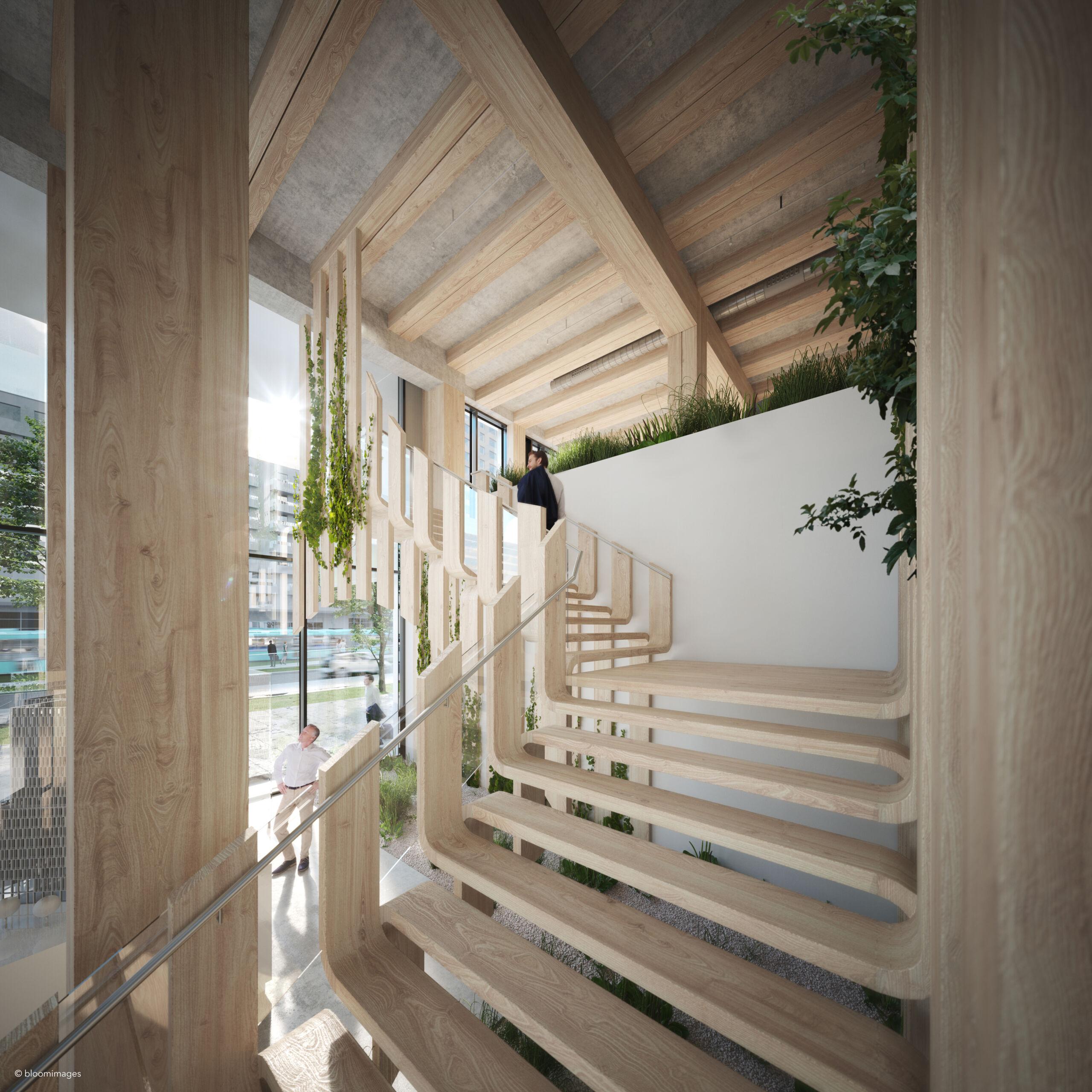UBM Development Timber Pioneer vizualizace interier 01