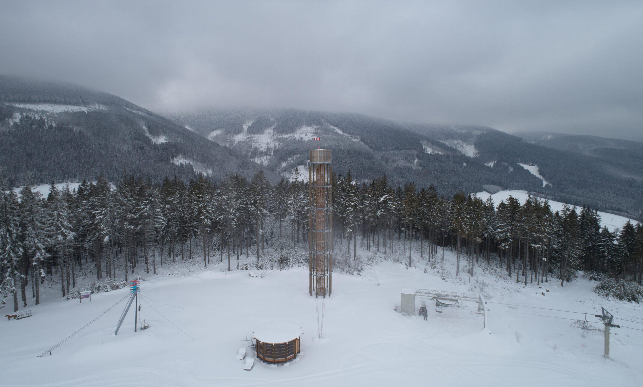 lookout tower at kralicak taros nova boysplaynice 23
