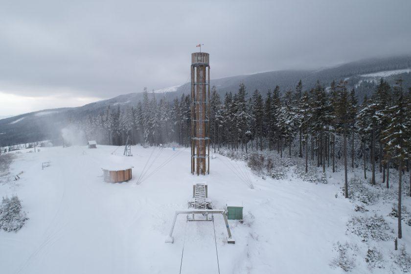 lookout tower at kralicak taros nova boysplaynice 24