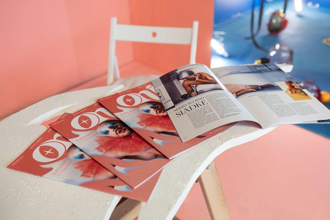 Instalace ONI magazine Radim Pergl