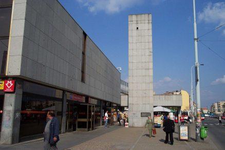 Praha Nádraží Holešovice jižní vestibul