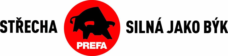 LOGO PREFA cz logo slogan jednoradkovy min