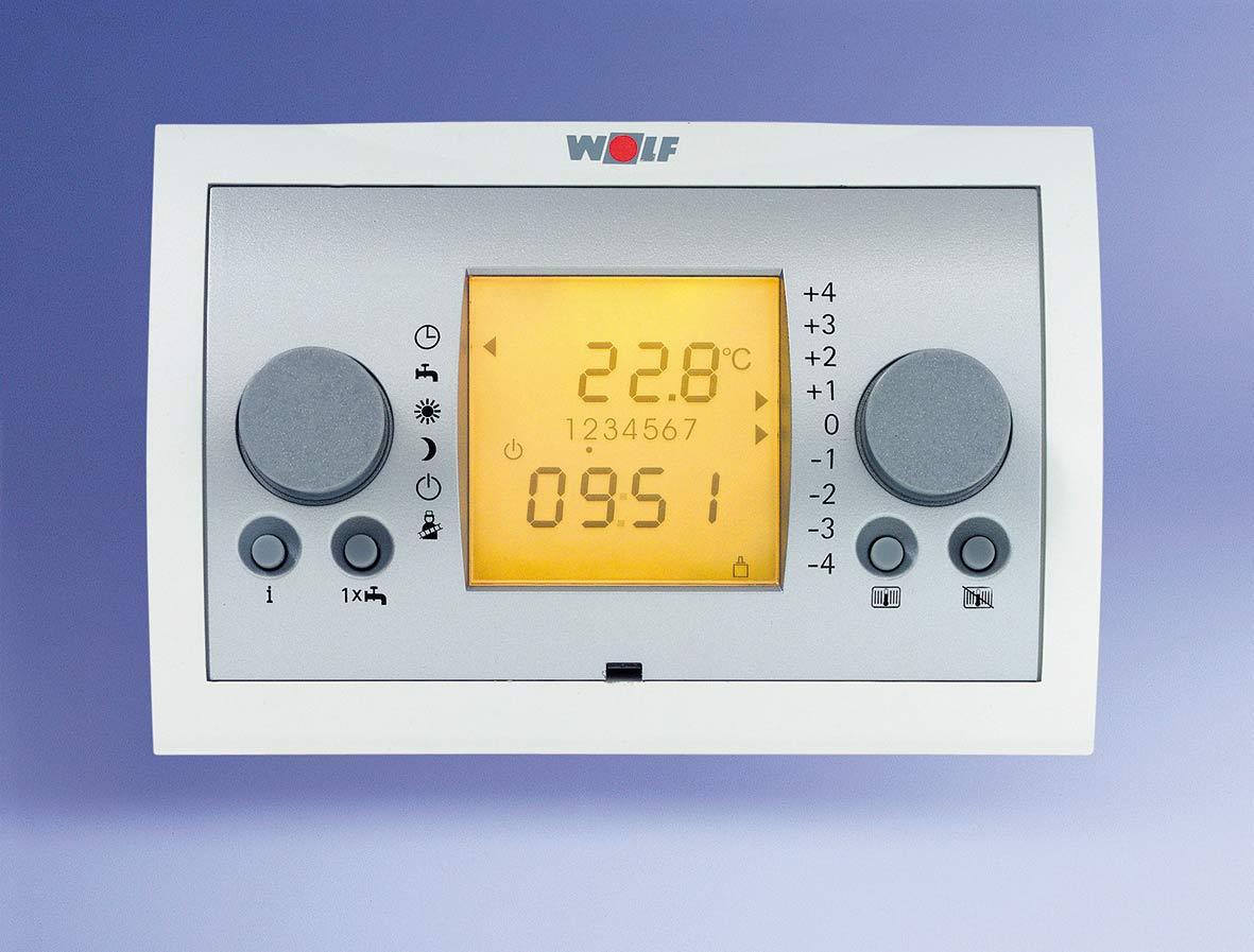 Obr. 6 Moderní kondenzační kotle mají vlastní mikroprocesorové regulace a vyžadují adekvátní řídicí systém vytápění.