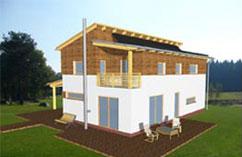 1. sériový pasivní dům v zemi