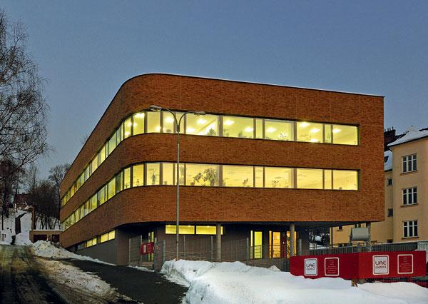 Administrativní budova bez topení