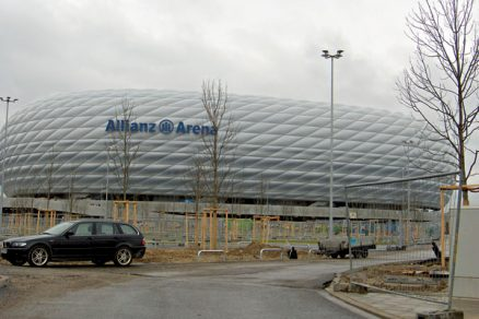 Allianz Arena posunula technologický vrchol