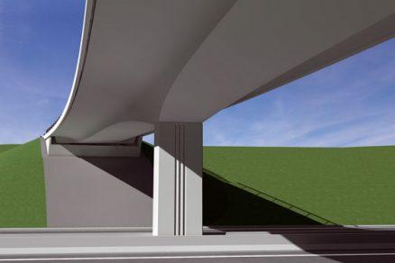 Architektura mostů rychlostní komunikace R1