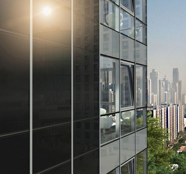 Atraktivní systémové fasády přetvářející budovy na solární elektrárny
