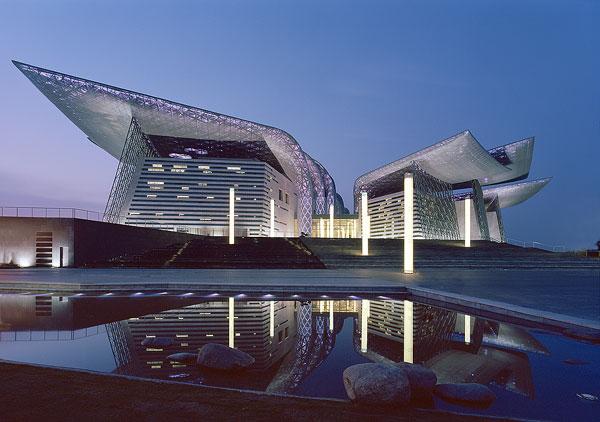 Bambusové Wuxi Grand Theatre